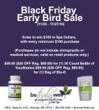 Black Friday Early Bird Sale