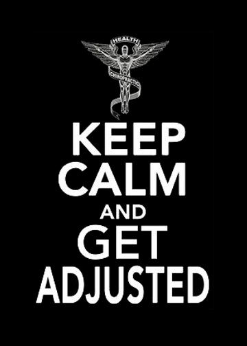 keep calm chiro